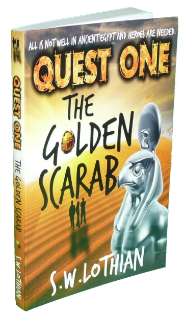 Quest One. The Golden Scarab - Paperback edition