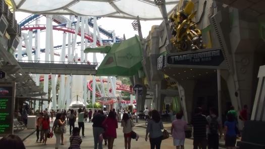 Sci-Fi City - Transformers The Ride