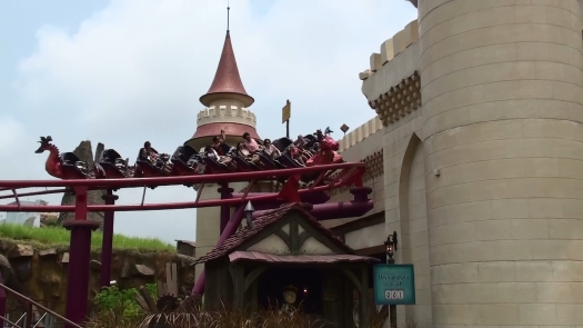 Enchanted Airways coaster