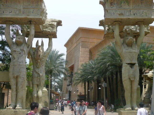 Universal Studios Singapore - Ancient Egypt