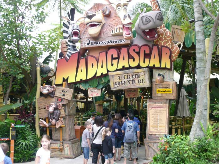 Madagascar: A Crate Adventure