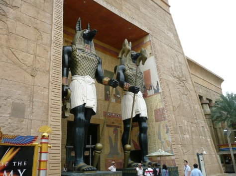 Ancient Egypt - Revenge of the Mummy ride