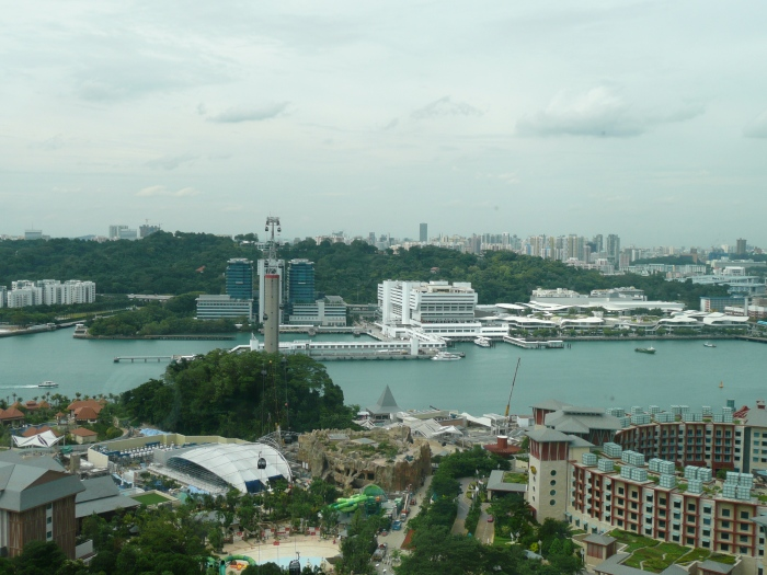 View from Tiger Sky Tower