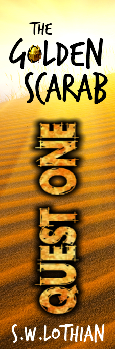 Bookmark - Quest One. The Golden Scarab