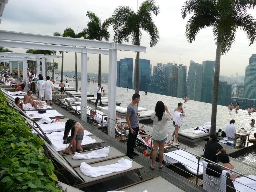 Marina Bay Sands - SkyPark Pool