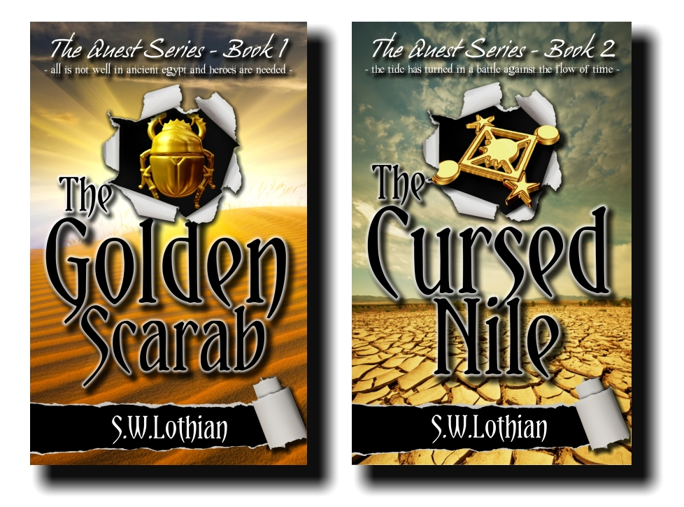The Quest Series - New covers