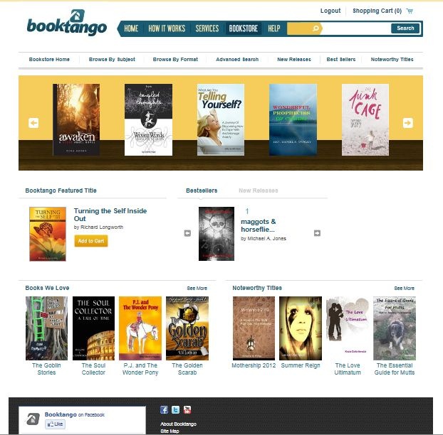 BookTango Bookstore - Starring The Quest Series