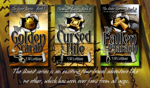The Quest Series  |  The Golden Scarab  |  The Cursed Nile  |  The Fallen Pharaoh