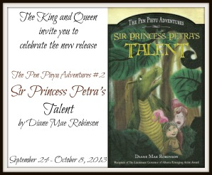 Sir Princess Petra's Talent Blog Tour
