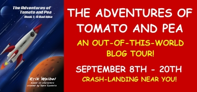 Tomato and Pea Blog Tour Banner