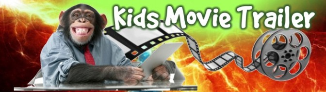 Kids Movie Trailer Banner