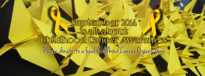 Childhood Cancer Banner Blog