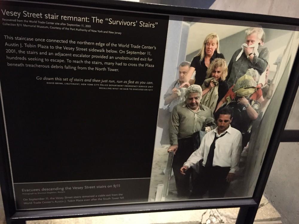 9/11 Memorial Museum - Escape