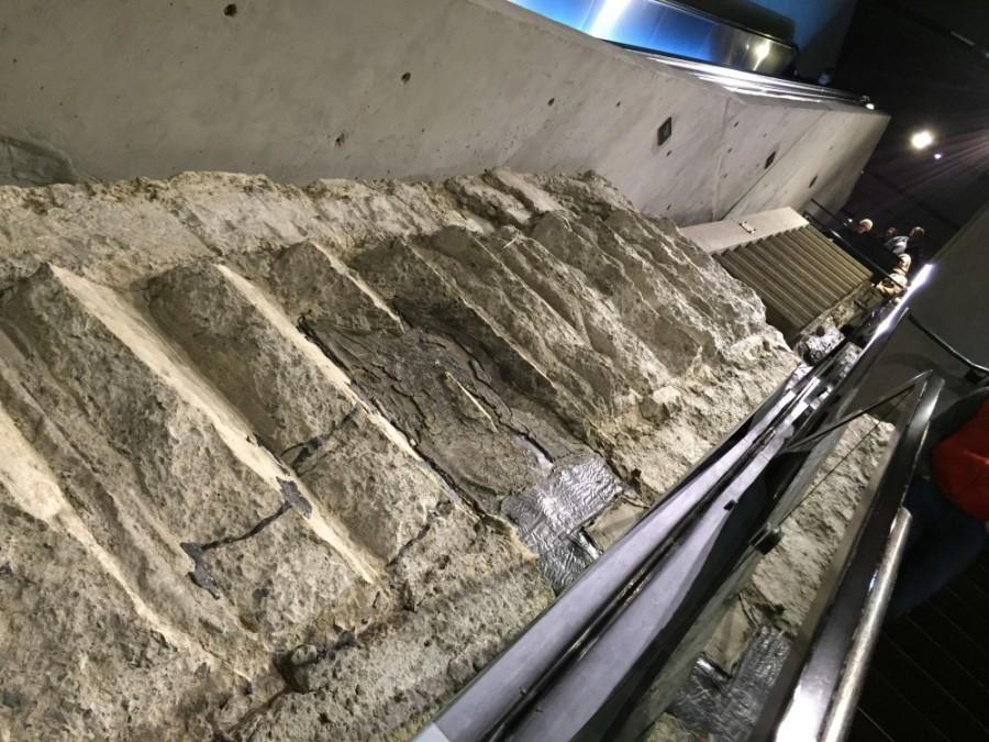 9/11 Memorial Museum - Stairs