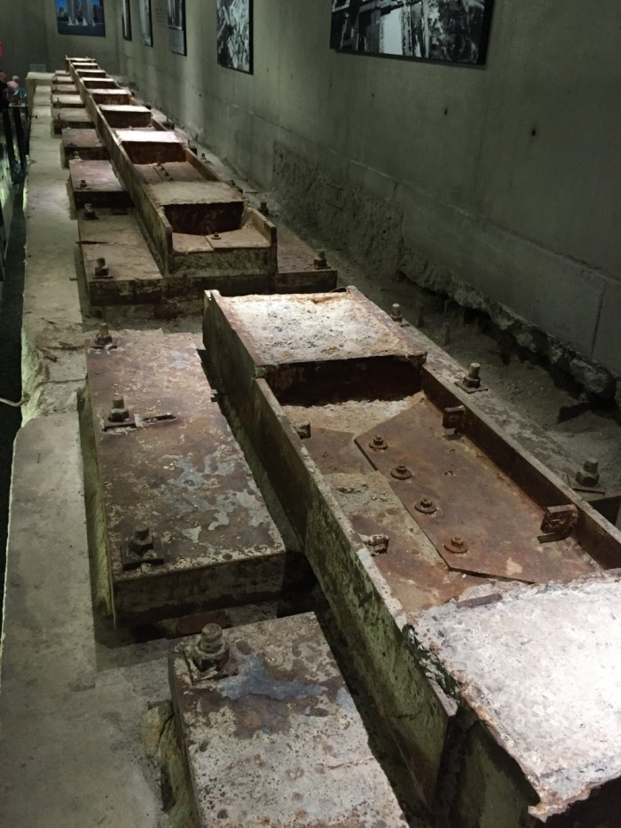 9/11 Museum - Foundations of WTC Tower