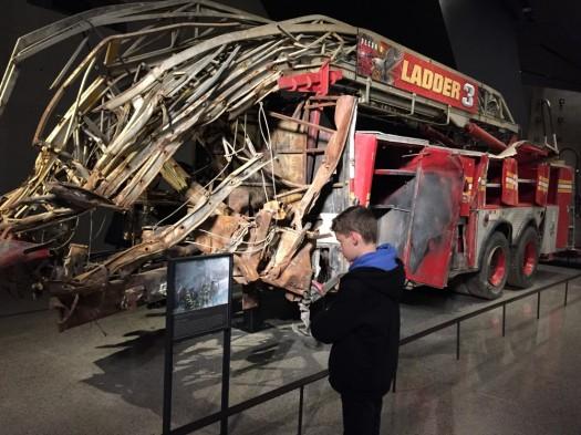 9/11 Memorial Museum - Fire Truck