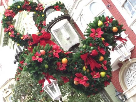 Magic Kingdom - Christmas Wreath