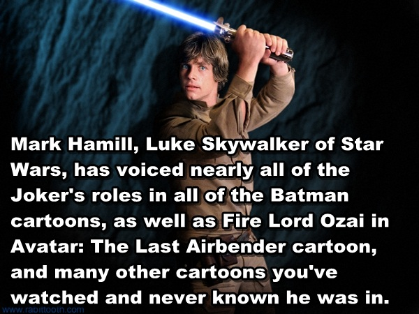 Luke Skywalker trivia