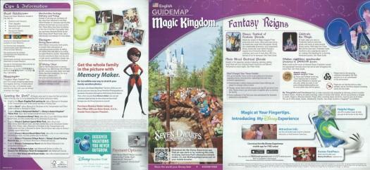 WDW MK Guidemap - Front