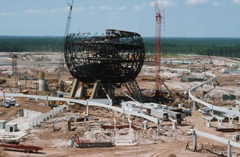 EPCOT construction
