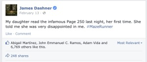 The Maze Runner Facebook