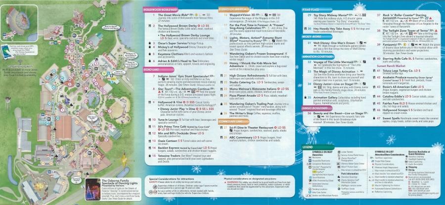 WDW HS Guidemap - Back