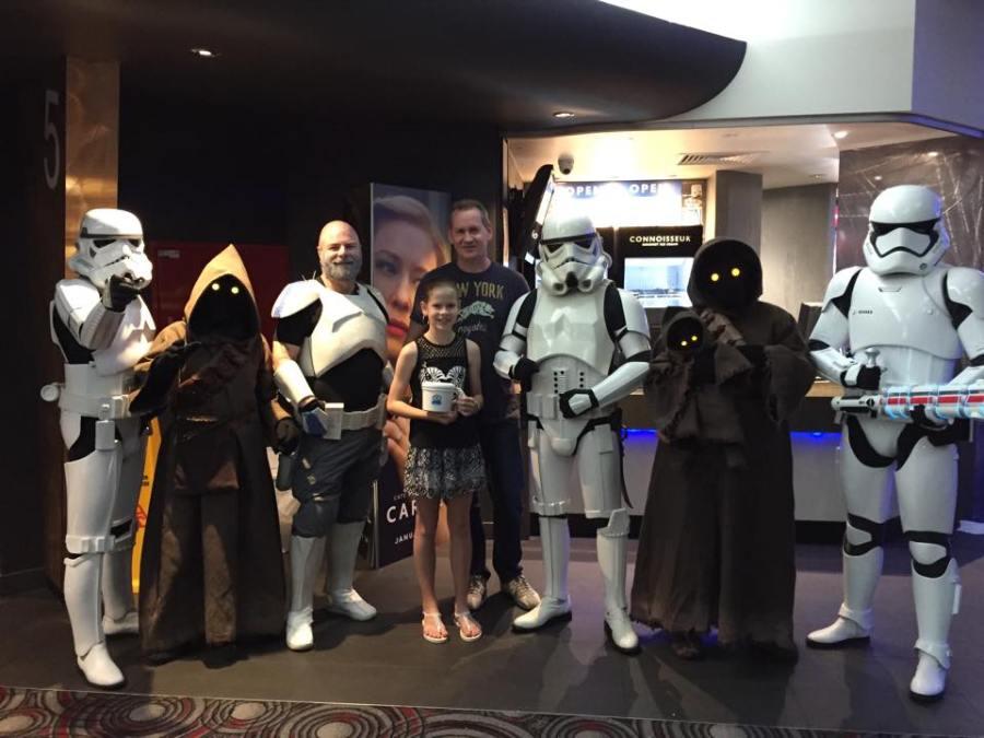 Star Wars selfie