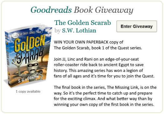 Goodreads Q1 Giveaway
