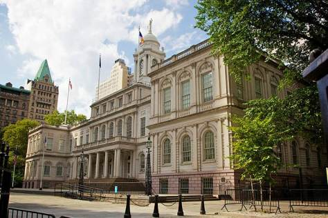 City Hall Building NYC