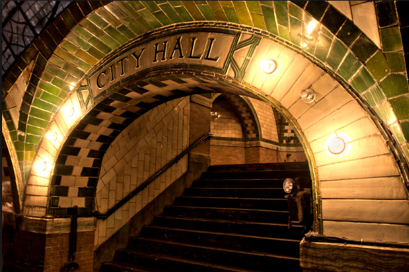 CIty Hall stairs