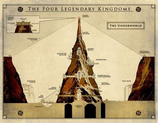 MR Four Legendary Kingdoms Map