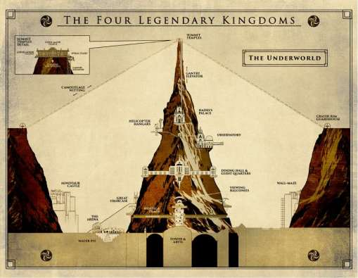MR Four Legendary Kingdoms Map