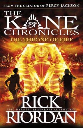 Rick Riordan The Throne of Fire