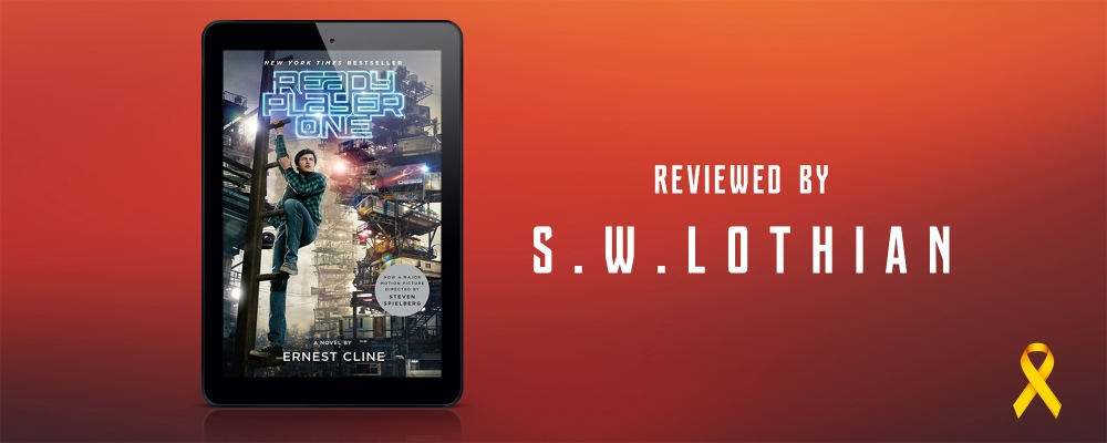 Ernest Cline - Ready Player ONe Banner