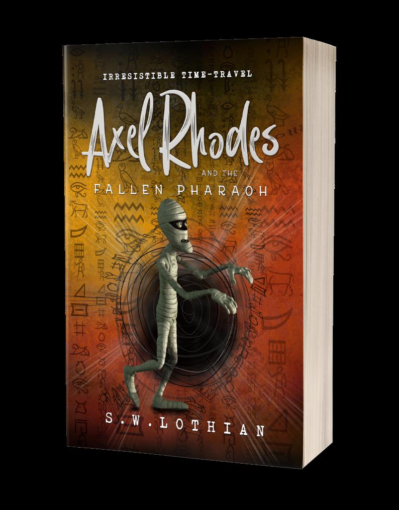Axel Rhodes and the Fallen Pharaoh - Paperback